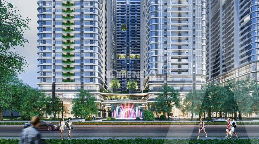 Dự án Trung tâm thương mại Astral City Bình Dương