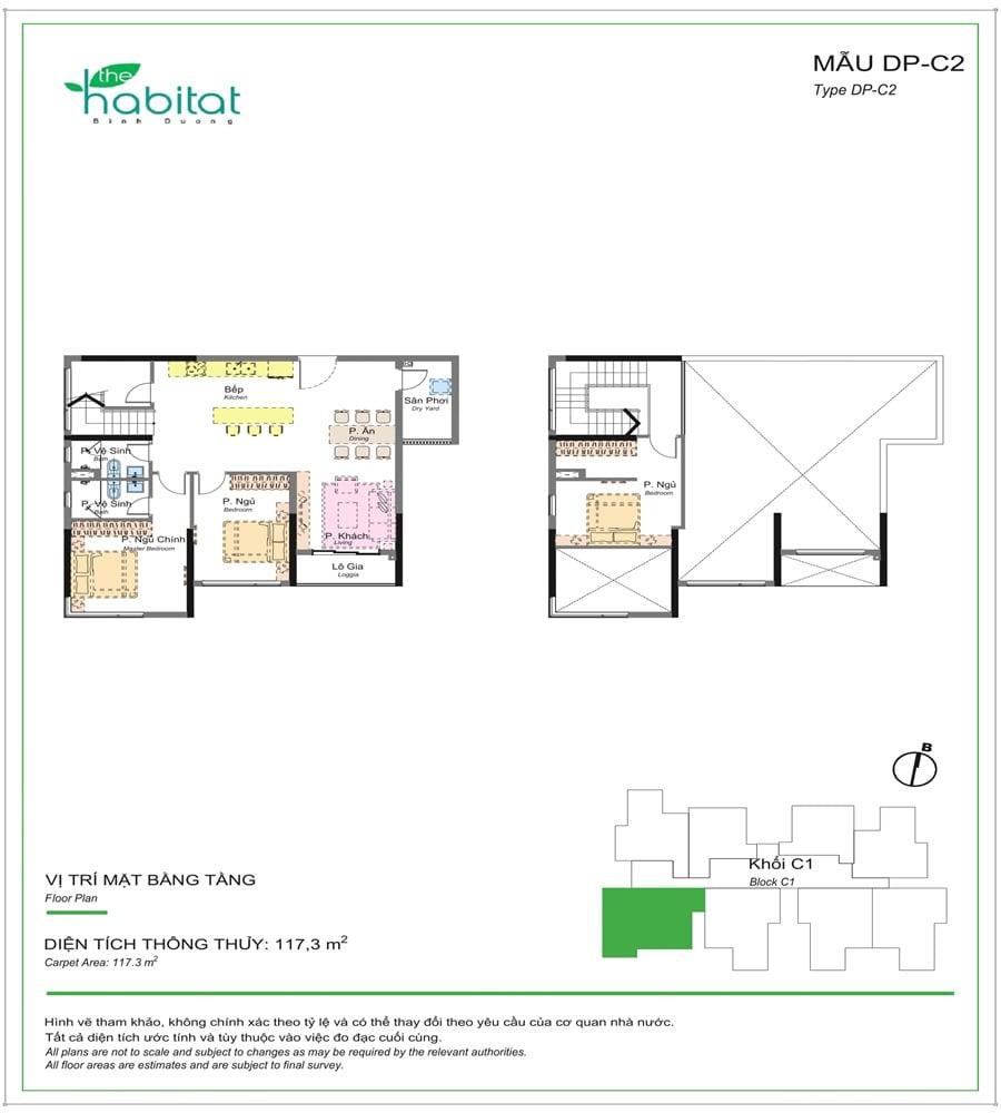 căn hộ habitat giai đoạn 3