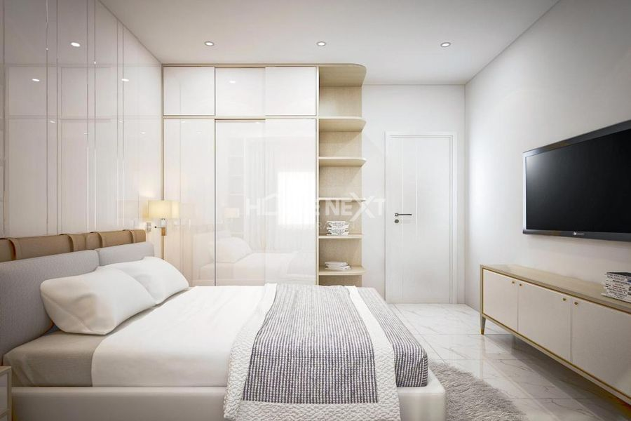 Phòng ngủ hiện đại, thoáng mát