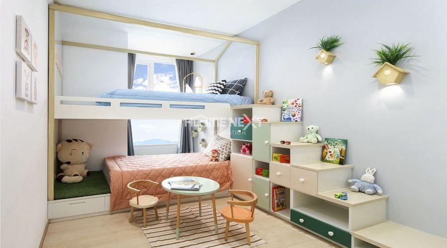 Phòng ngủ dành cho trẻ em vô cùng đáng yêu
