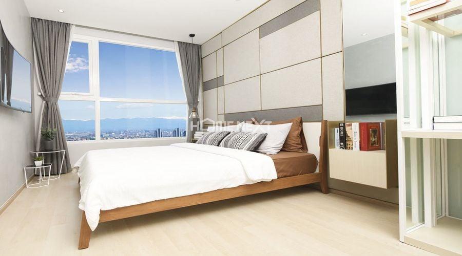 Phòng ngủ thứ hai tại căn hộ Astral City Bình Dương