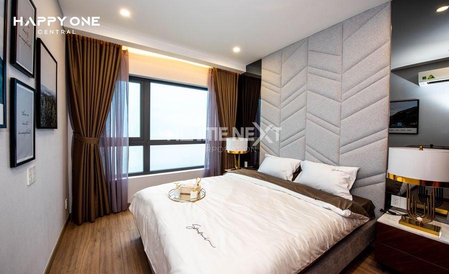 căn hộ mẫu 2 phòng ngủ hiện đại tinh tế tại dự án