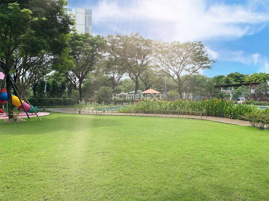 Khung cảnh tuyệt đẹp, không gian xanh mát tại căn hộ Eco Xuân Bình Dương