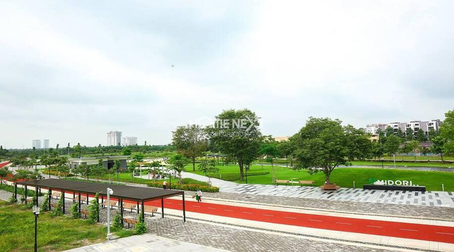 công viên xanh midori