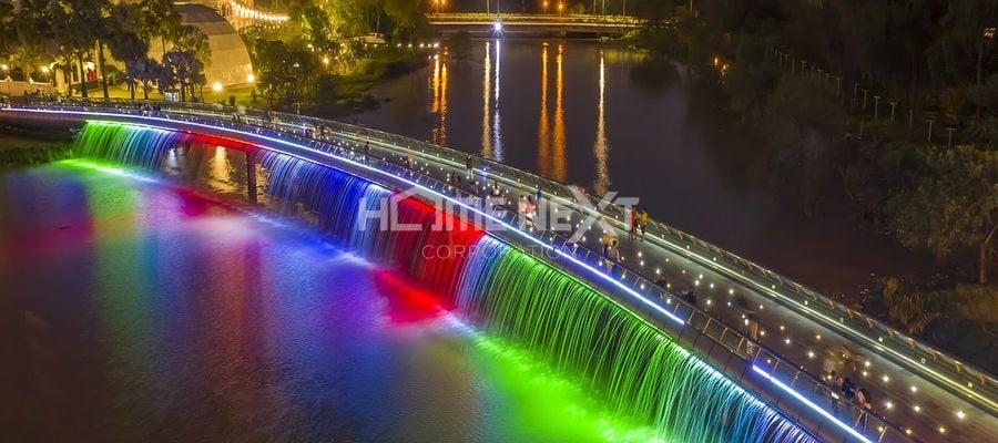 Vẻ đẹp của Cầu Ánh Sao thành phố Hồ Chí Minh