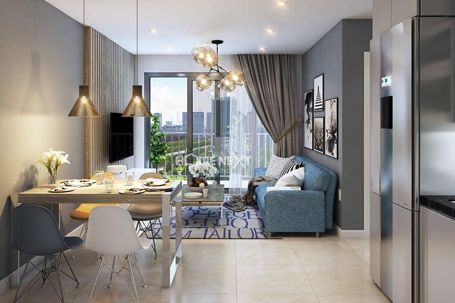 Cho thuê căn hộ Homez@Canary Bình Dương