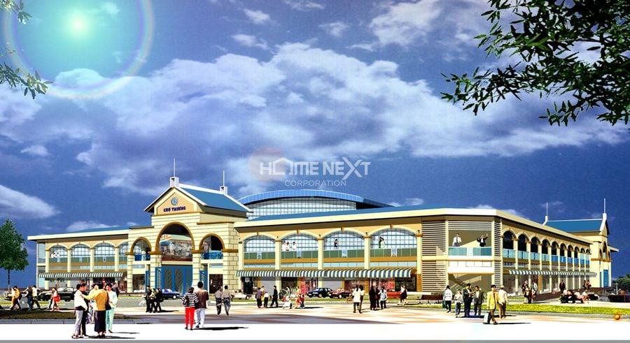 Dự án ĐTXD Chợ Thương - Bắc Giang