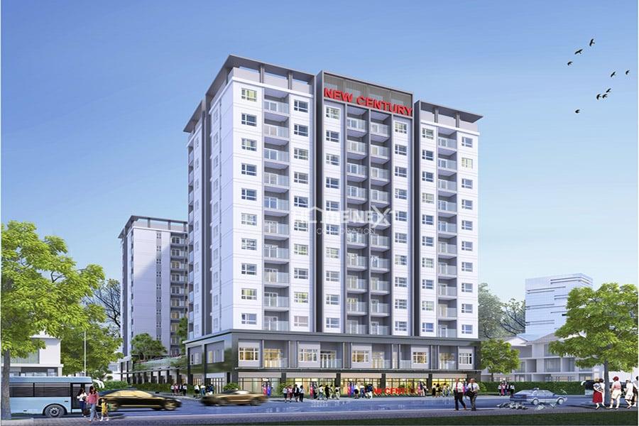 tòa chung cư Phú Lợi New Century