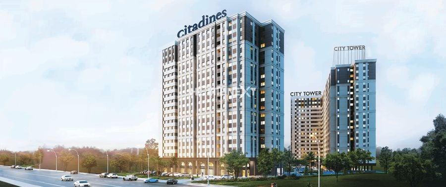 Phối cảnh căn hộ City Tower - Thuận An