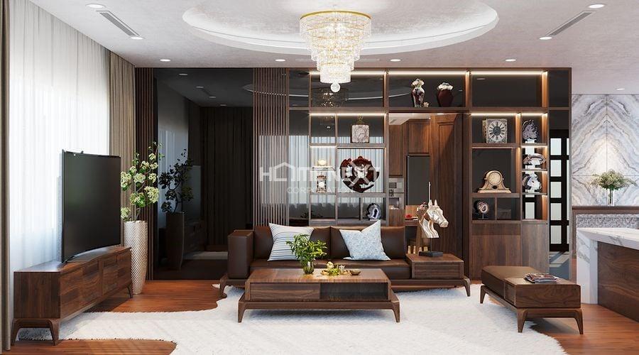 Nội thất gỗ được sử dụng nhiều trong nội thất cổ điển