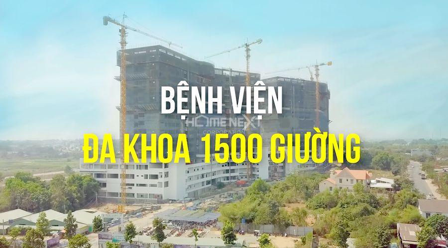 Siêu dự án bệnh viện Đa khoa 1500 giường