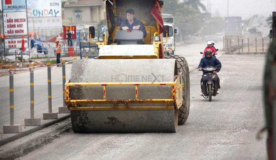 Công trình cải tạo quốc lộ sử dụng vốn đầu tư công