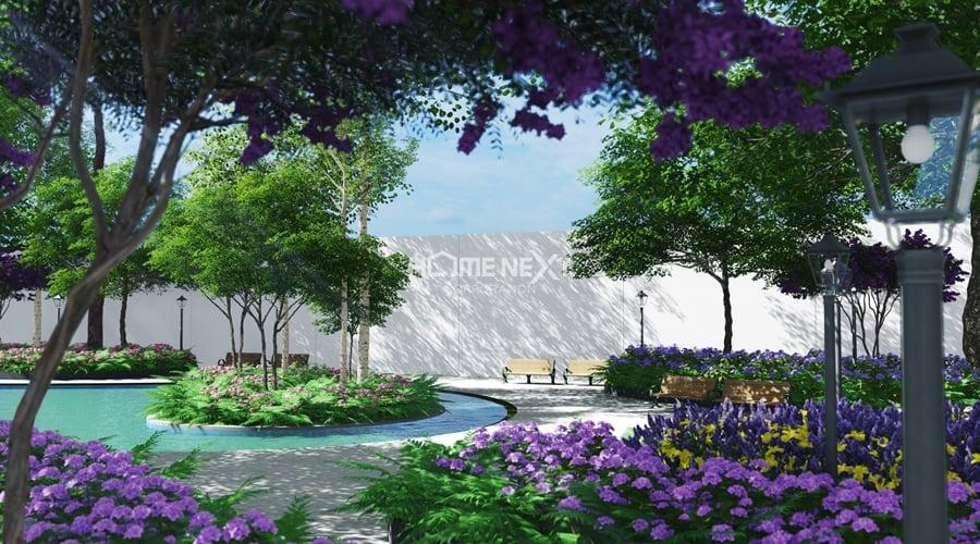 Công viên 4 mùa rộng 4 ha