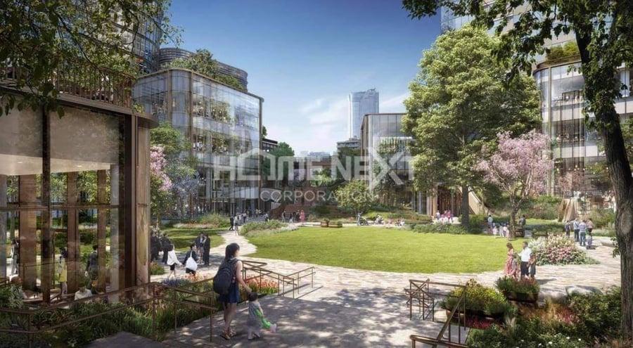 Công viên cây xanh thoáng mát tại dự án Astral City