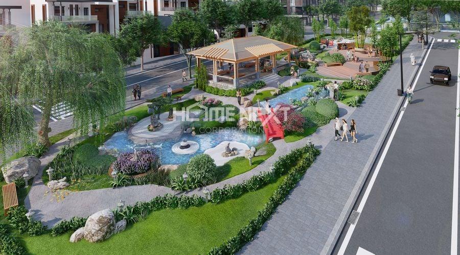 Khu công viên Nyoko dự án Takara Residence Chánh Nghĩa