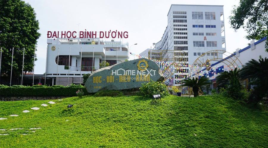 trường đại học Bình Dương gần dự án