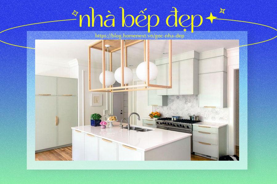 Kiểu bếp đảo cho không gian nhà thêm sinh động