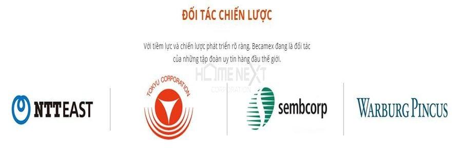 Đối tác chiến lược phát triển của công ty Becamex
