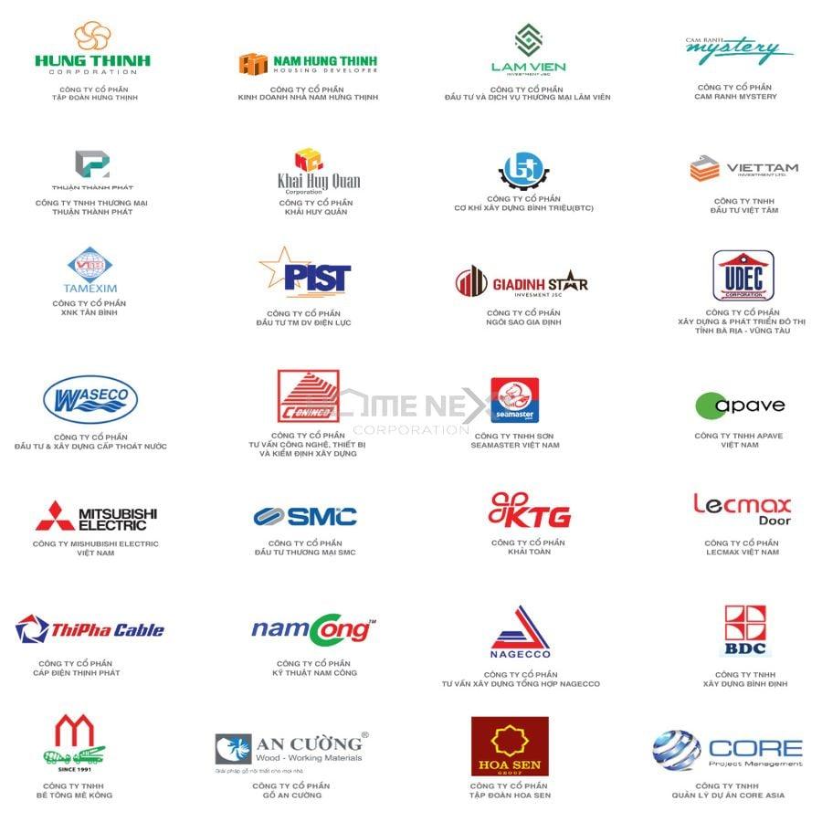 Danh sách tổng hợp khách hàng, công ty đối tác của Hưng Thịnh Incons