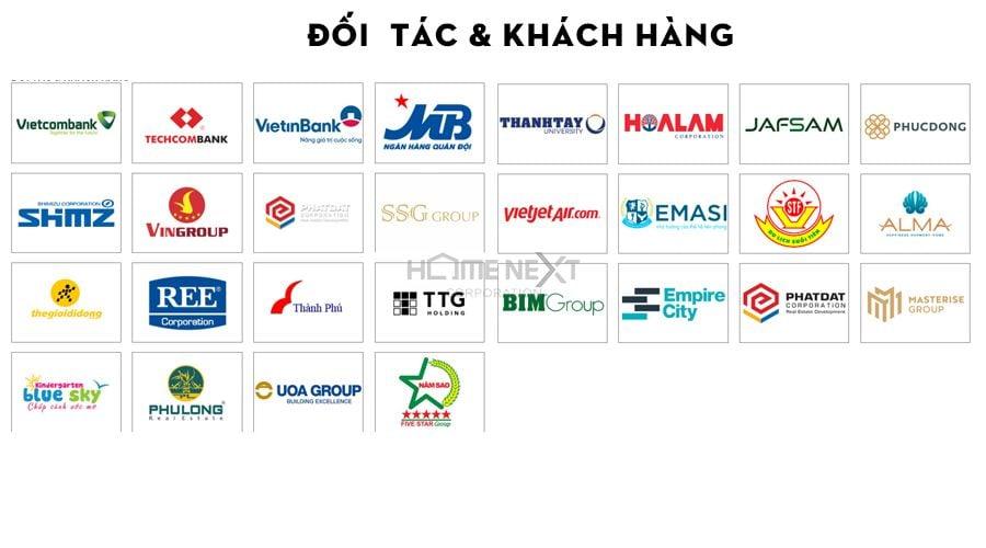 Các đối tác lớn của Central hợp tác phát triển cho nhiều dự án tầm cỡ quốc tế