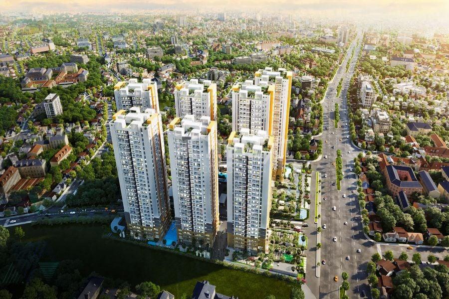 Phối cảnh dự án căn hộ Biên Hòa Universe Complex