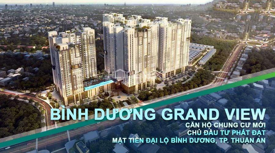 Dự án căn hộ Grand View Bình Dương