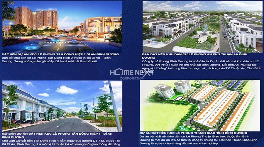 dự án chủ đầu tư Lê Phong
