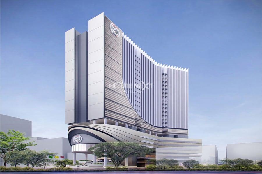 Dự án Đại học Quốc tế Hồng Bàng do TAKCO