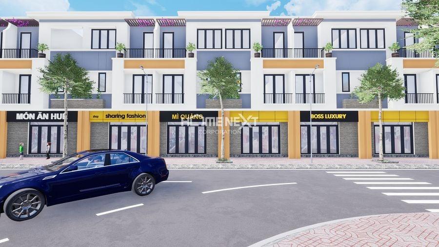 Thiết kế dãy nhà phố Lavela Garden Bình Chuẩn