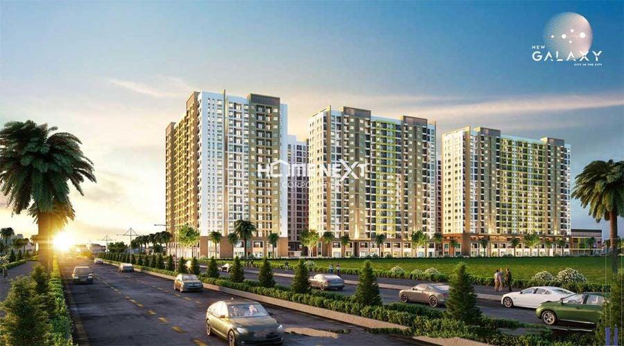 Dự án căn hộ chung cư New Galaxy