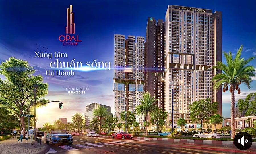 opal city view bình dương