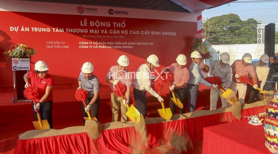 lễ khởi công dự án căn hộ Phát Đạt Thuận An