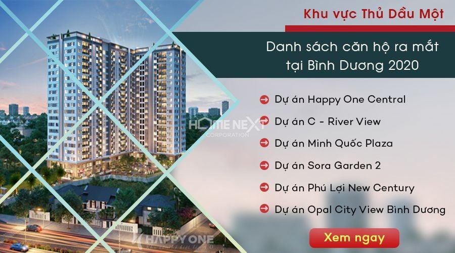 dự án căn hộ chung cư tại Thủ Dầu Một