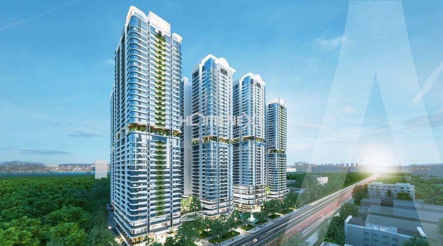 Phối cảnh dự án Astral City Thuận An