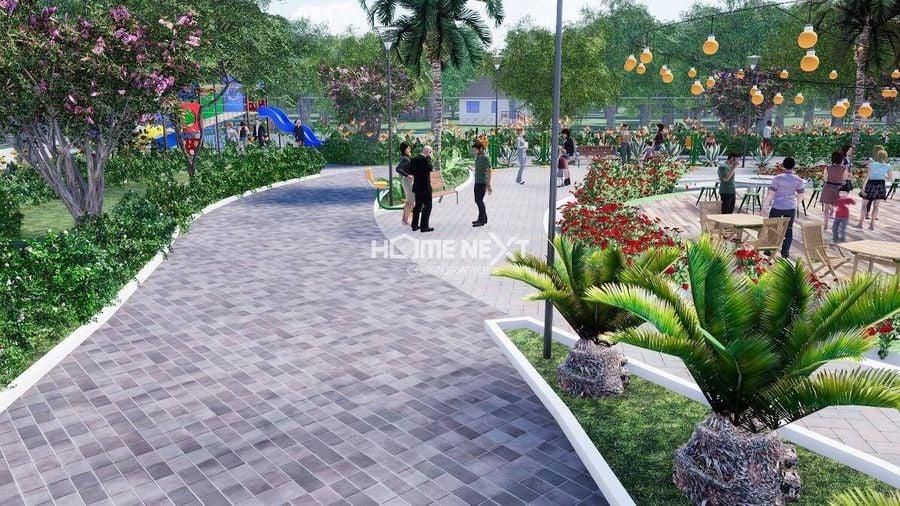 Khuôn viên, lối đi bộ xanh tại Lavela Garden