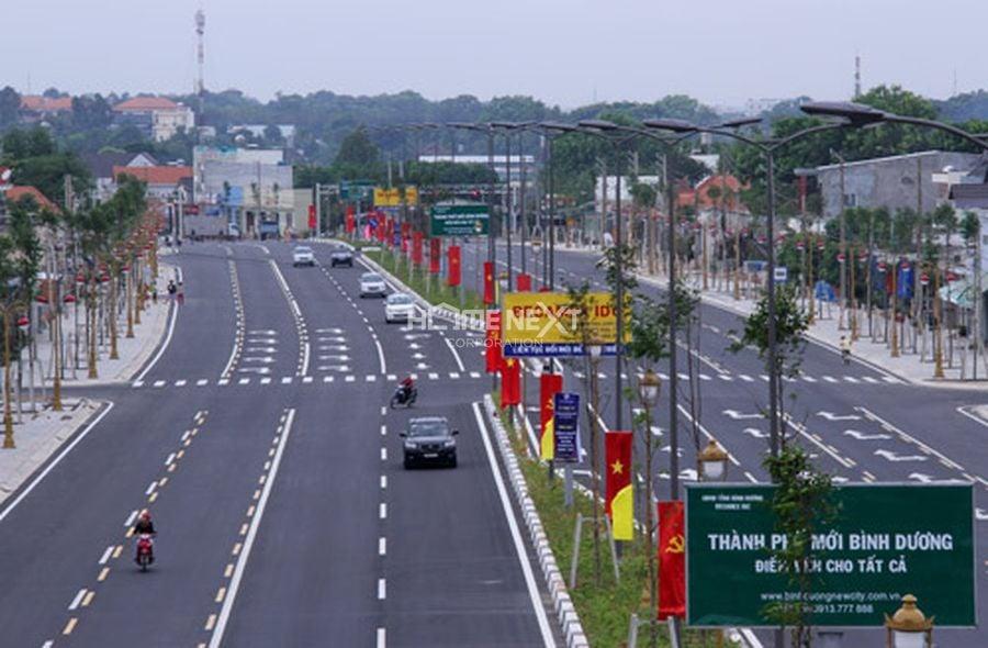 Tuyến đường chủ chốt tại thành phố mới Bình Dương