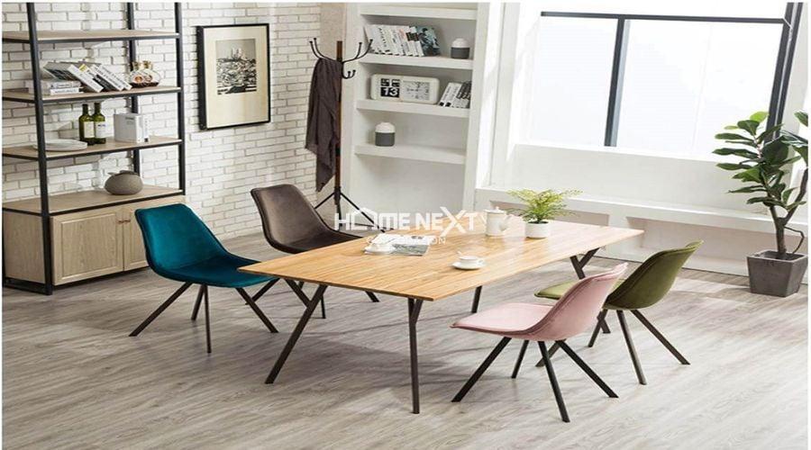 Ghế bọc vải nhung được sử dụng nhiều trong nội thất văn phòng