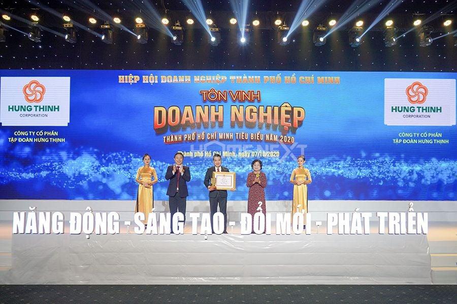 Giải thưởng doanh nghiệp, doanh nhân Tp.HCM tiêu biểu năm 2020