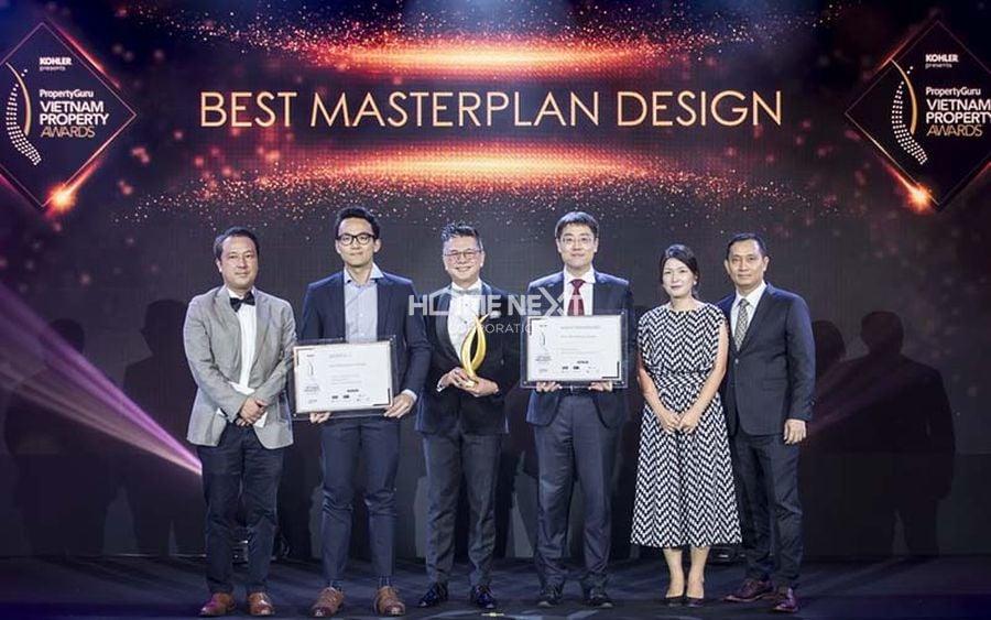 Giải thưởng tiêu biểu dành cho dự án Paramount Thủ Dầu Một