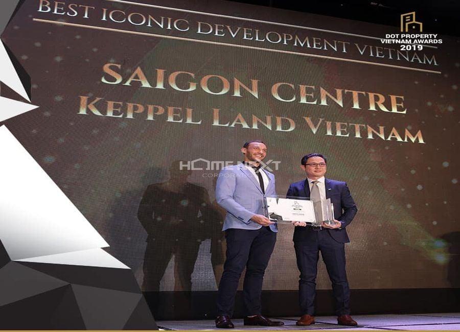 Giải thưởng của dự án Saigon Centre