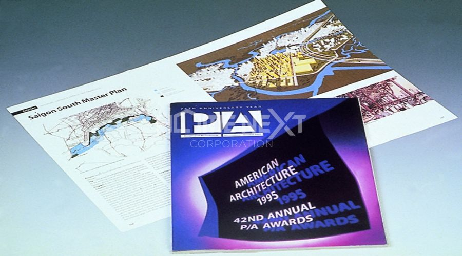 Giải thưởng Kiến trúc đô thị lần thứ 42 do Tạp chí Kiến trúc Tiến bộ Hoa Kỳ trao tặng tháng 1/1995