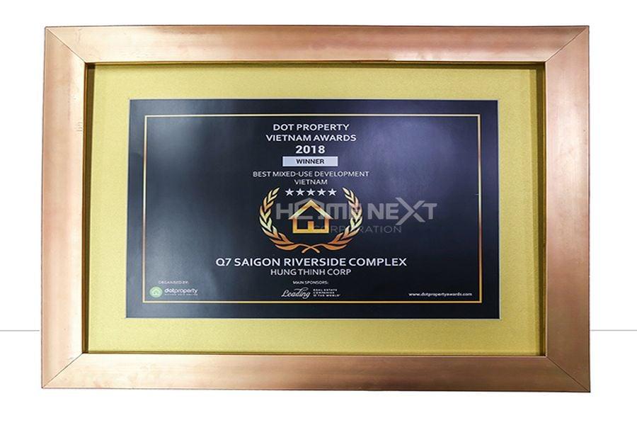 Giải Thưởng Quốc Tế Dot Property Vietnam Awards 2018