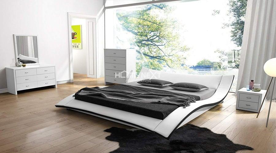 kiểu giường cho người mệnh Thủy