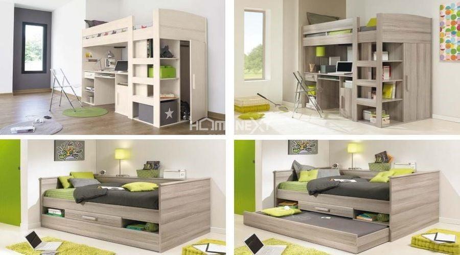 Giường ngủ thông minh với thiết kế hiện đại