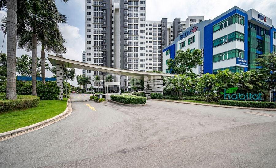 Cổng chào dự án căn hộ The Habitat