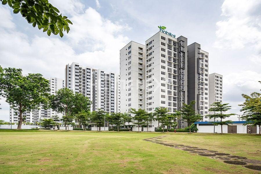 Khuôn viên xanh, khu vui chơi tại The Habitat