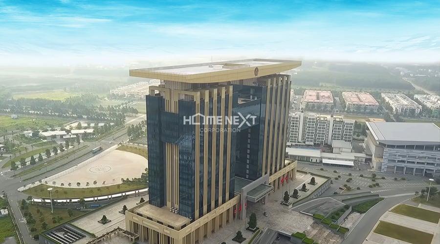 Thiết kế tòa trung tâm hành chính tỉnh theo tiêu chuẩn Singapore