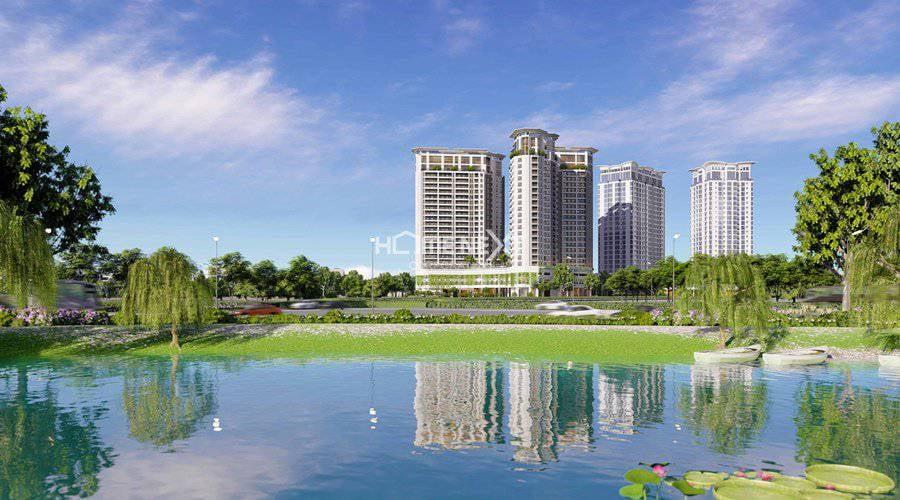 Dự án căn hộ chung cư Sora Gardens II