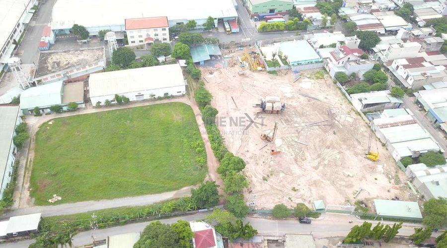 Công trình xây dựng Park View Bình Dương