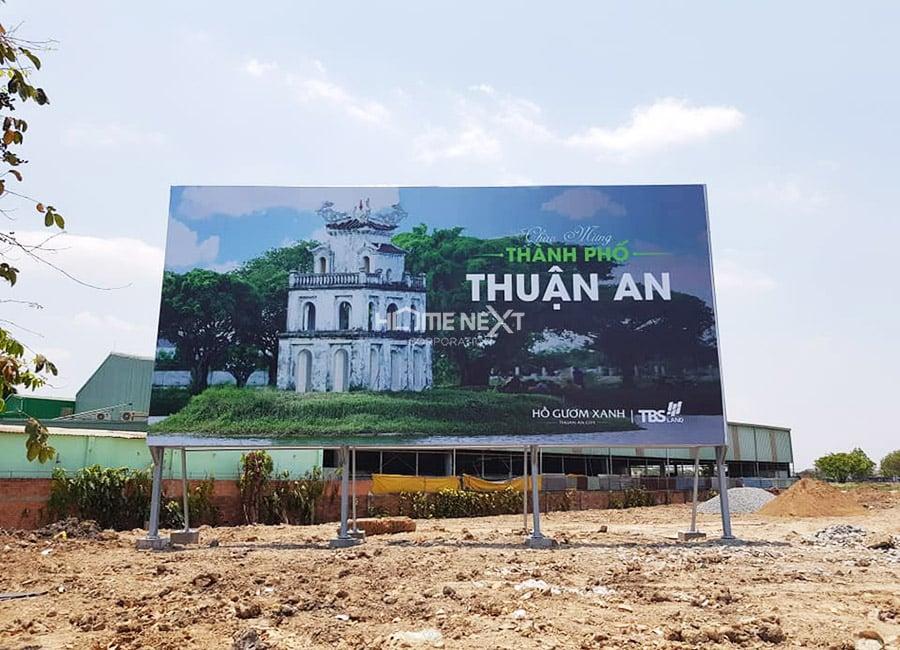 Những hình ảnh thực tế tại Hồ Gươm Xanh Thuận An City